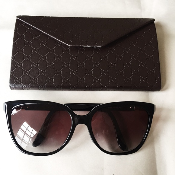 Black Gucci Sunglasses